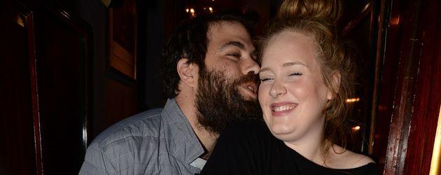 Simon Konecki und Adele