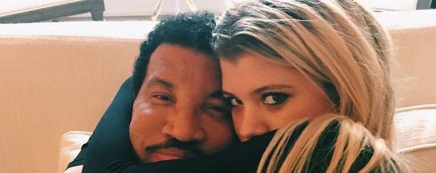 Lionel Richie mit Tochter Sofia Richie