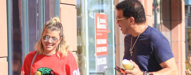 Lionel Richie und Tochter Sofia in Los Angeles