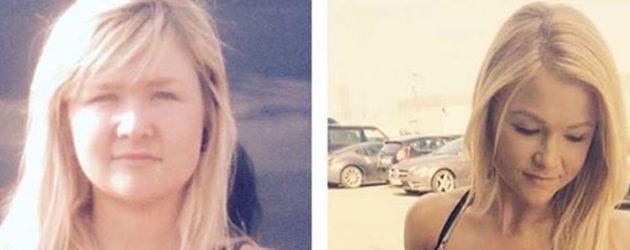 Sophia Thiel im Vorher-Nachher-Vergleich