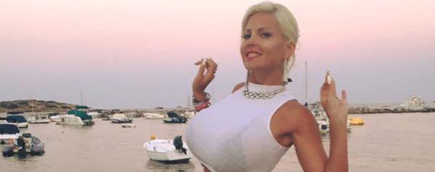 Sophia Wollersheim auf Ibiza