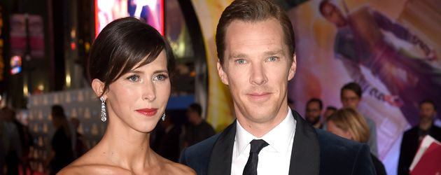 Sophie Hunter und Benedict Cumberbatch in Los Angeles
