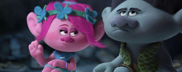 """Trollprinzessin Poppy und Branch im Film """"Trolls"""""""