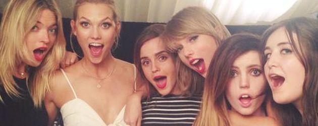 Taylor Swift, Emma Watson, Karlie Kloss, Martha Hunt und Co.