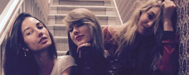 Gigi Hadid, Selena Gomez, Taylor Swift und Lily Aldridge
