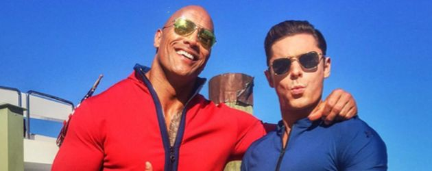"Dwayne ""The Rock"" Johnson und Zac Efron"