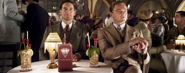 """Tobey Maguire und Leonardo DiCaprio in """"Der große Gatsby"""""""