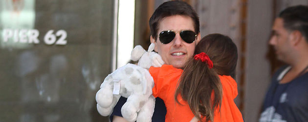 Tom Cruise und Suri Cruise
