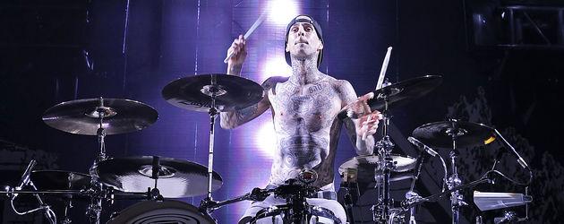 Travis Barker auf der Bühne