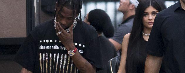 Travis Scott und Kylie Jenner in Miami
