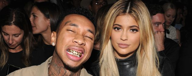 Tyga und Kylie bei der Fashion Week in New York
