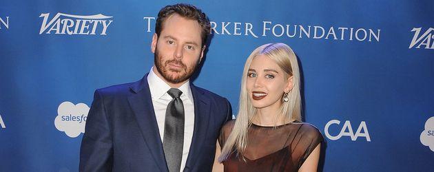 Unternehmer Sean Parker und seine Alexandra