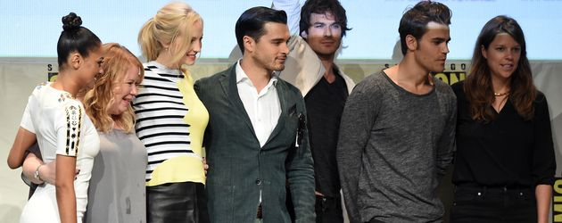 Ian Somerhalder, Candice Accola, Paul Wesley, Kat Graham & Co. auf der Comic Con 2015