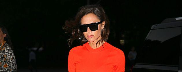 Victoria Beckham bei der Ankunft an ihrem Hotel in New York