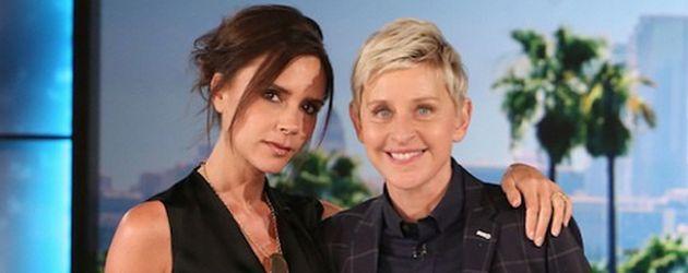 Victoria Beckham und Ellen DeGeneres