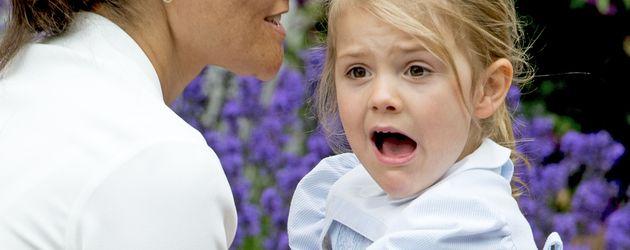 Victoria von Schweden und Tochter Estelle zum 39. Geburtstag der Kronprinzessin