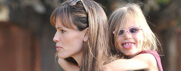 Jennifer Garner und Violet Affleck