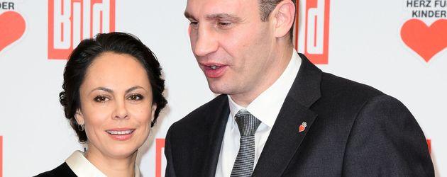 Vitali Klitschko und Natalia Klitschko