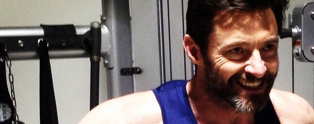 X-Men-Star Hugh Jackman beim Training