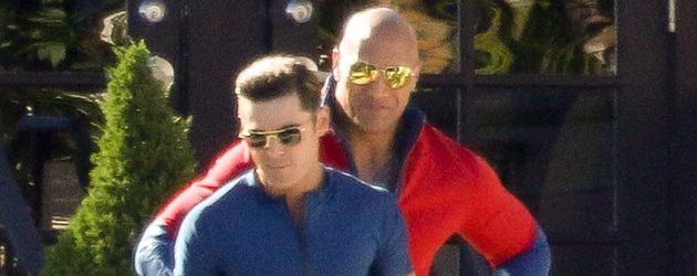 "Zac Efron und Dwayne ""The Rock"" Johnson"