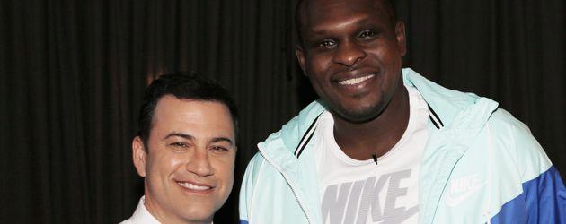 Jimmy Kimmel und Zach Randolph